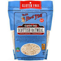 BOBS RED MILL OATMEAL GF SCOTTISH 20 OZ