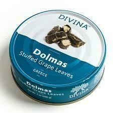 DIVINA BLUE - STUFFED DOLMAS GRAPE LEAVES 7 OZ