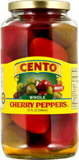CENTO - CHERRY PEPPERS WHOLE 32 OZ