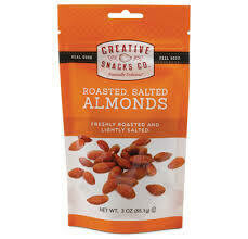 CREATIVE SNACKS - ROASTED ALMOND