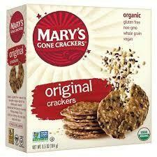MARY'S - GF ORIGINAL CRACKER 6.5 OZ