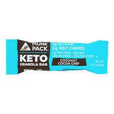 MUNK KETO - COCONUT COCO CHIP KETO 1.12 OZ