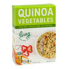 PEREG QUINOA W/VEGETABLES BOX 6 OZ EA