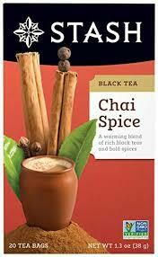 STASH CHAI SPICE TEA 20 x BAG EA