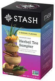 STASH HERBAL TEA SAMPLER 18 x BAG EA