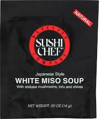SUSHI CHEF WHITE MISO SOUP