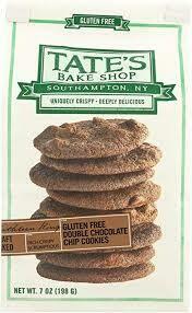TATES BAKE SHOP GF DOUBLE CHOC CHIP COOKIE 7 OZ EA