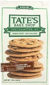 TATES BAKE SHOP COOKIE GF CHOC CHIP 7 OZ EA