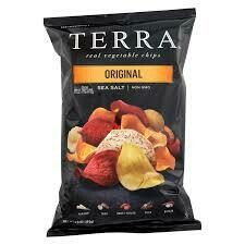 TERRA CHIPS VEG ORIGINAL 6.8OZ EA