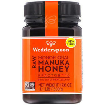 WEDDERSPOON - MANUKA HONEY RAW KF 16 8.8OZ EA