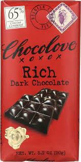 CHOCOLOVE - RICH DARK CHOCOLATE 3.2 OZ