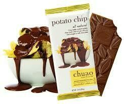 CHUAO POTATO CHIP CHOCOLATE BAR 2.8OZ EA