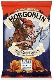 HOBGOBLIN SPIT ROAST STEAK HAND FRIED PO 40G