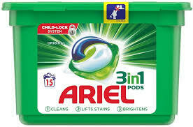 ARIEL 3 IN 1 PODS REGULAR 15S