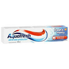 AQUAFRESH TOOTHPASTE FRESH & MINTY 100ML