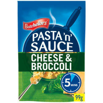 BATCHELORS PASTA 'N SAUCE - BROCCOLI /CHEESE110G