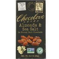 CHOCOLOVE - ALMOND & SEA SALT