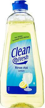CLEAN FRESH RINSE AID LEMON 400ML