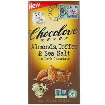 CHOCOLOVE - TOFFEE N ALMONDS