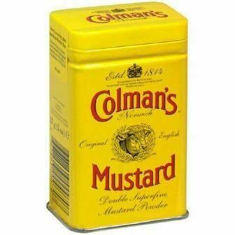 COLMANS ENGLISH MUSTARD POWDER 113G