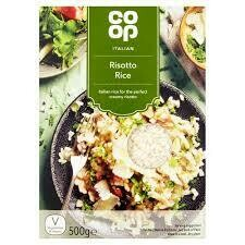 CO OP ITALIAN RISOTTO RICE 500G