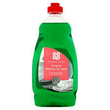 CO OP WASHING UP LIQUID LEMON 450ML