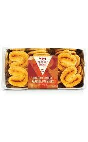 COTTAGE DELIGHT BUTTERY CHEESE PAPRIKA PALMLERS 150G