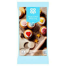 CO OP READY WHITE ICING 500G