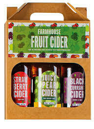 COTTAGE DELIGHT FARMHOUSE FRUIT CIDER 3X500ML