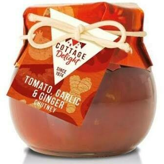 COTTAGE DELIGHT TOMATO GARLIC & GINGER CHUTNEY 105G