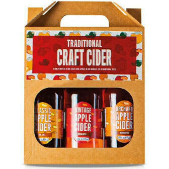 COTTAGE DELIGHT TRADITIONAL CRAFT CIDER 3X500ML