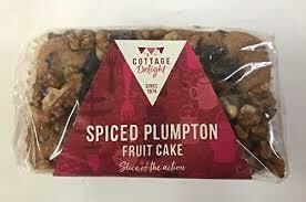 COTTAGE DELIGHT SPICED PLUMPTON FRUIT CAKE 500G