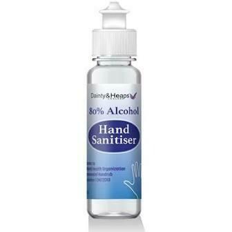 DAINTY & HEAPS ALCOHOL HAND SANITISER 100ML