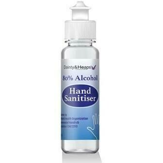 DAINTY & HEAPS ALCOHOL HAND SANITISER 100ML