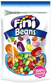 FINI JELLY BEANS GLUTEN FREE POUCH 180G
