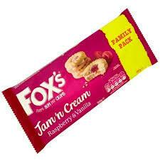 FOXS JAM & CREAMS TWIN PK 300G