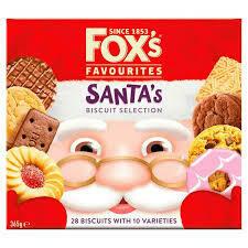 FOX SANTAS FAVOURITES CARTON 365G