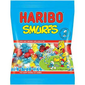 HARIBO SMURFS 160G