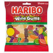 HARIBO WINE GUMS 160G