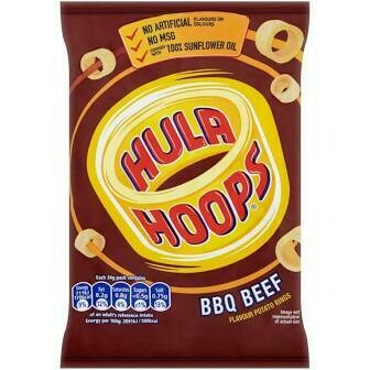 HULA HOOPS BARBEQUE BEEF 34G