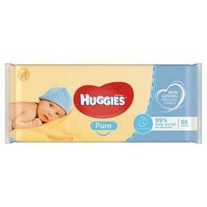 HUGGIES BABY WIPES PURE 56'S