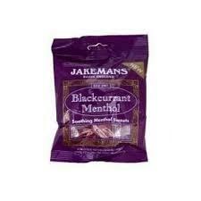 JAKEMANS BLACKCURRANT MENTHOL LOZENGES 100G