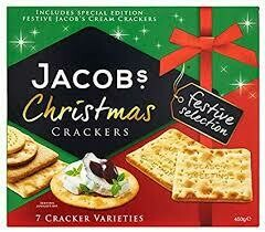JACOBS CHRISTMAS CRACKERS 450G