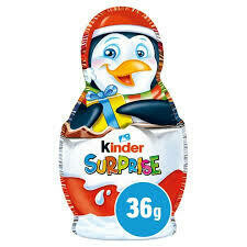 KINDER SURPRISE HOLLOW FIGURES 36G
