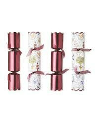 LUXURY CHRISTMAS TRADITIONAL CRACKERS 8' 9PK