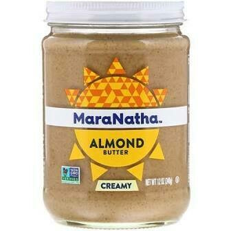 MARANATHA NO STIR ALMOND BUTTER CREAMY 15 OZ