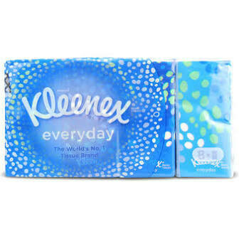 KLEENEX ORIGINAL POCKET TISSUE HANDY PACK