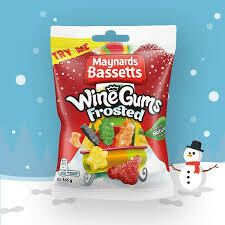 MAYNARDS FROSTED WINE GUMS BAGS 165G
