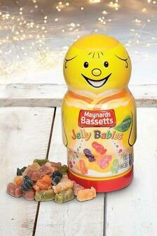 MAYNARDS BASSETTS JELLY BABIES  JAR 495G