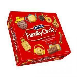 MCVITIES FAMILY CIRCLE 620G